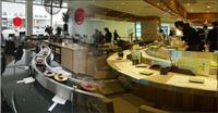 Open Concept Sushi Conveyor for Japanese restaurant