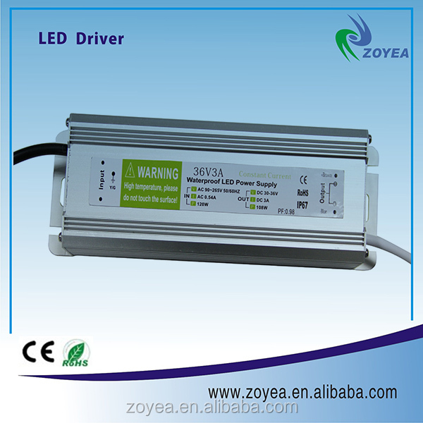 China manufacturer waterproof led driver dimmable 220v