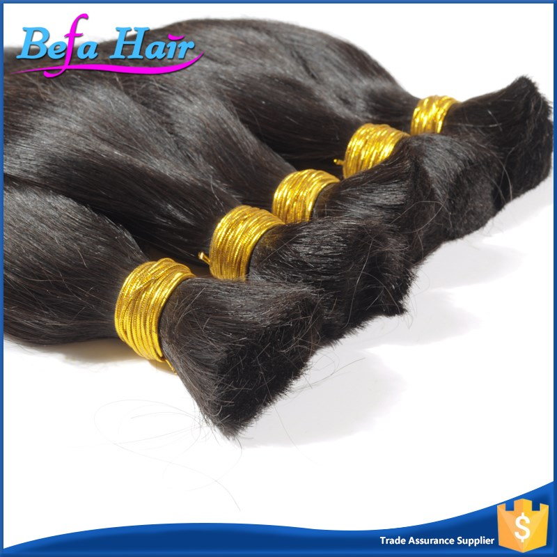New arrival 100% virgin bulk hair brazilian bulk hair extensions without weft