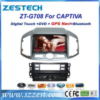 ZESTECH Made in China car dvd player 2 din car audio for Chevrolet Captiva