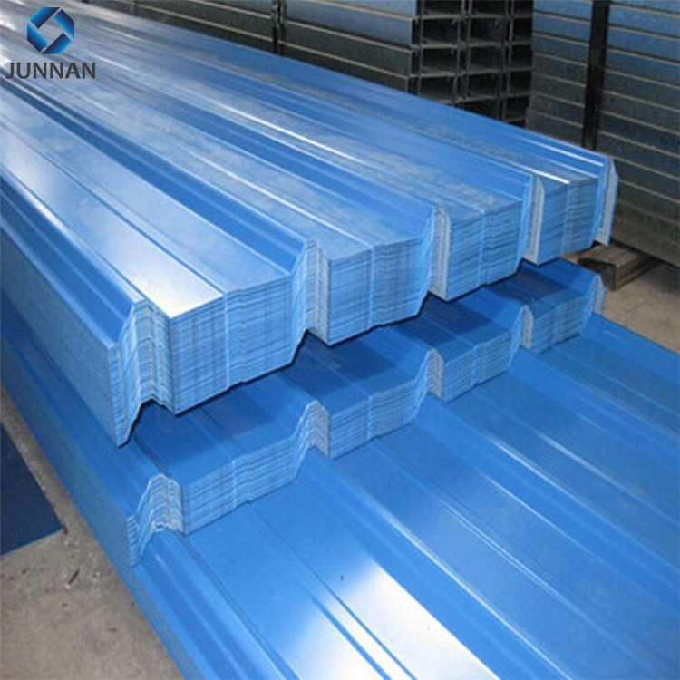 color coated corrugated steel roofing sheet in manufacture price