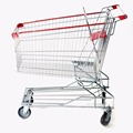 Hot sale 60-240L supermarket shopping trolley with asia style