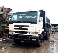 japanese nissan UD used dump truck for sale