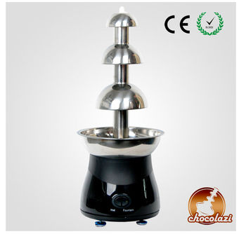 CHOCOLAZI ANT-8050 Auger 3 tiers stainless steel Home chocolate fountain