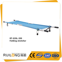 made in china aluminum alloy folding stretcher for ambulance