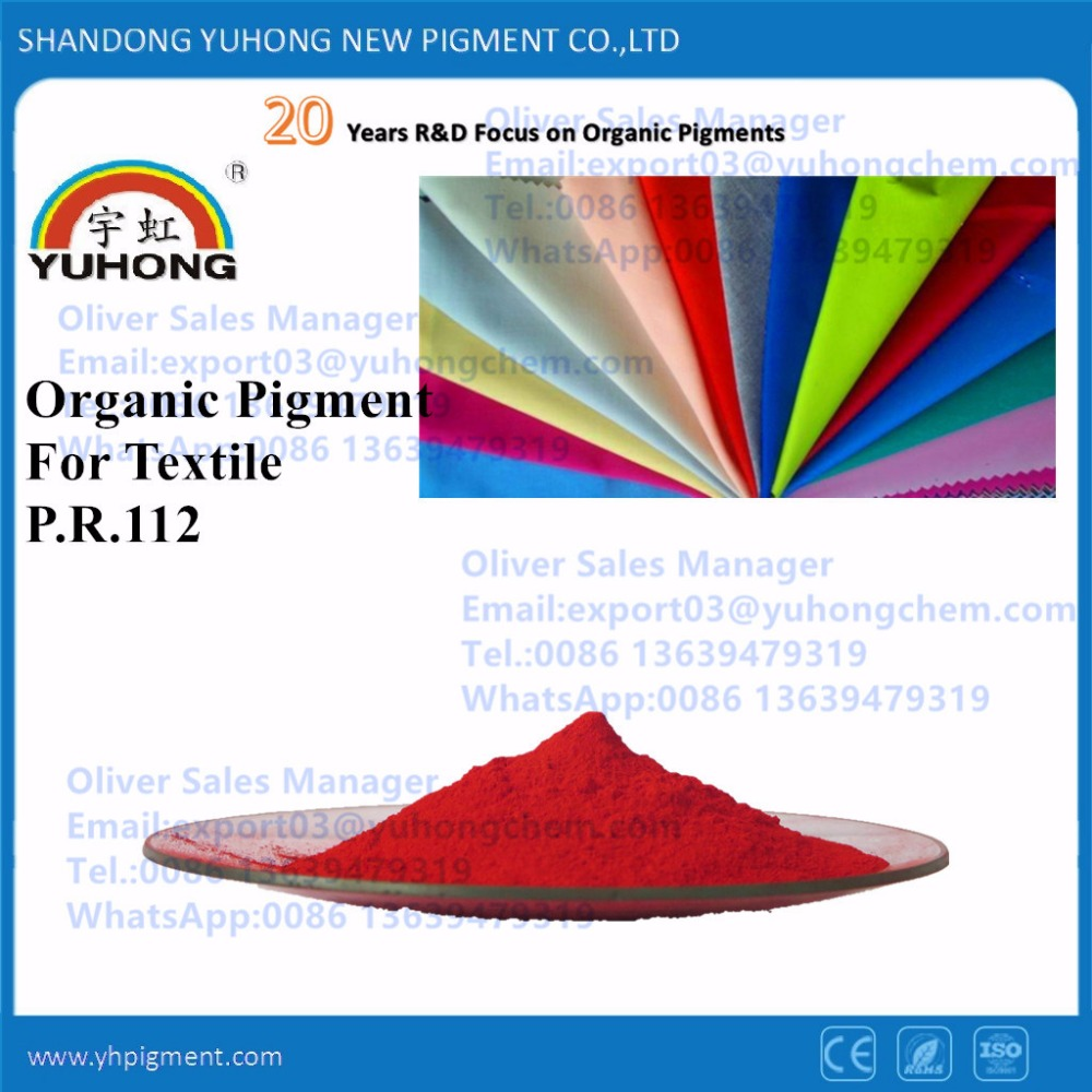 Textile red Pigment water based paste pigment P.R.112