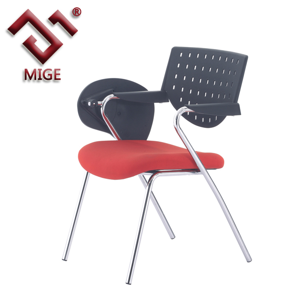 Comfortable Wheeled Tablet Arm Chair
