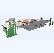 high quality hot melt heat glue laminating machine for bag leather