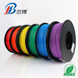 New product 1.75mm /3.0mm 1kg/roll 3d printer pla filament for 3d printer