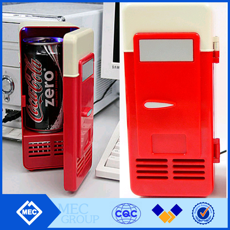 New Mini USB Fridge Cooler Gadget, Cooler/Warmer Cans Refrigerator