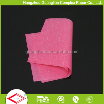 Food Grade Printed Greaseproof Paper for Bread Wrapping