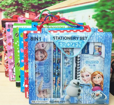 2016 Hotsale Factory supply school stationery set wholesale, drawing stationery