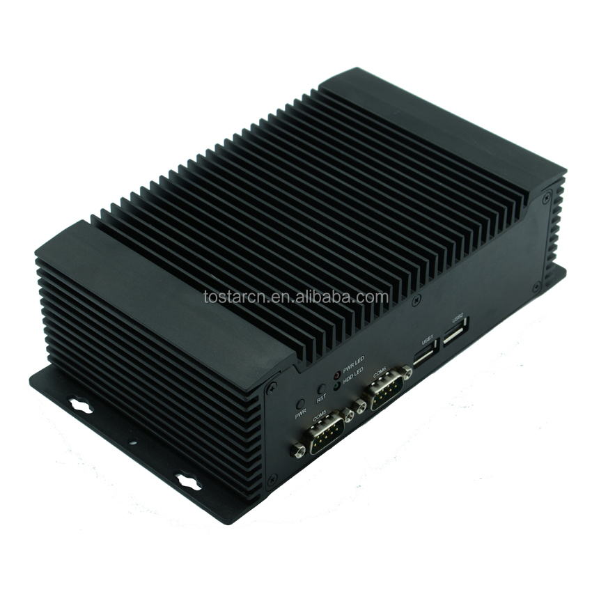 Dual core N2600 1.6G processor Fanless Embedded Industrial Computer NFN26 embedded PC