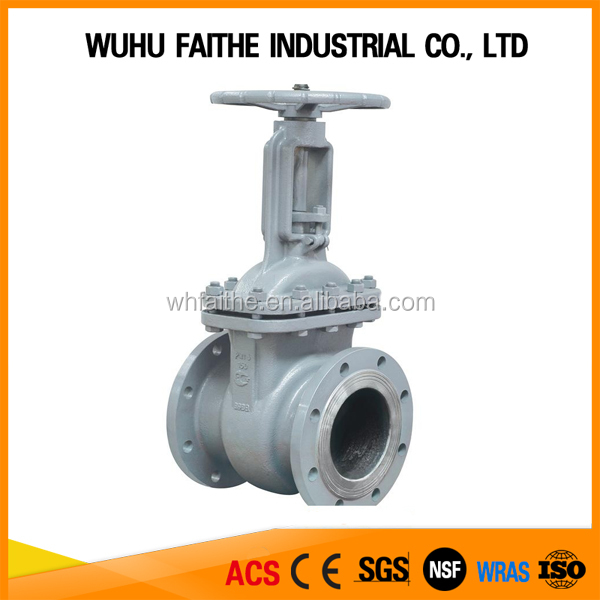 High Quality GOST Carbon Steel/Stainless Steel Gate Valve