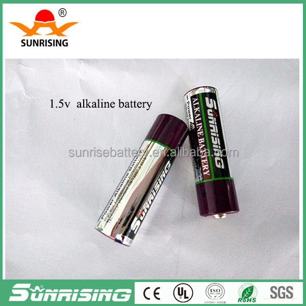 High quality Zn/MnO2 Pro-Environment Low Price dry battery lr6 size aa am3 1.5v alkaline battery aa battery made in china