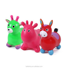 2019 hot sale colorful mini plastic animal donkey toy