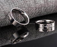 fashion silver jewelry high quality couple fashion popular wholesales footprint ring