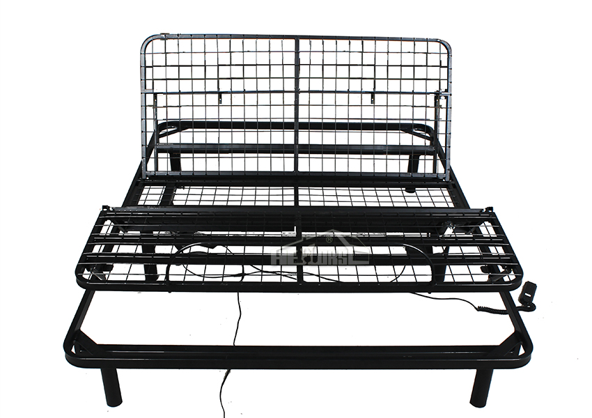 Di alta qualit in metallo telaio del letto testiera del letto regolabile t01 3 metal letto id - Telaio del letto ...