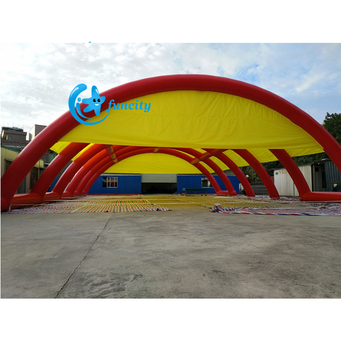 Great Inflatable Sport Tents Giant Mobile Inflatable Paintball Tent For Bunker Sport Games