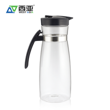 1.8L plastic pot drinking hot water coffee jug with lid