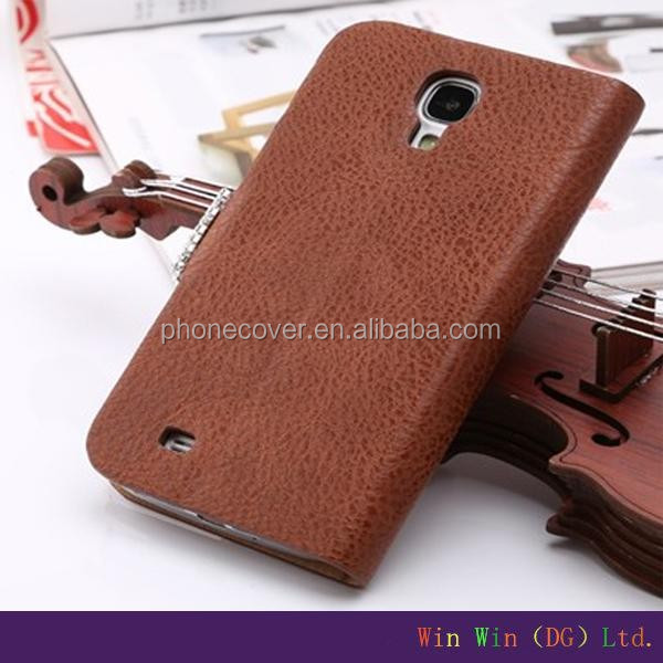 Hot sale mobile phone accessory genuine leather wood filp cell phone case for iphone