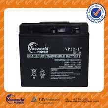 Chinese cheap price 48v 36v 24v 12v ups agm solar deep cycle gel rechargeable battery 12v 17ah