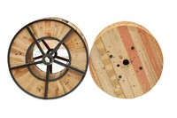 steel wooden empty cable drums for sale