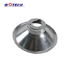 custom precision high quality oem spinning spun metal lamp cover parts