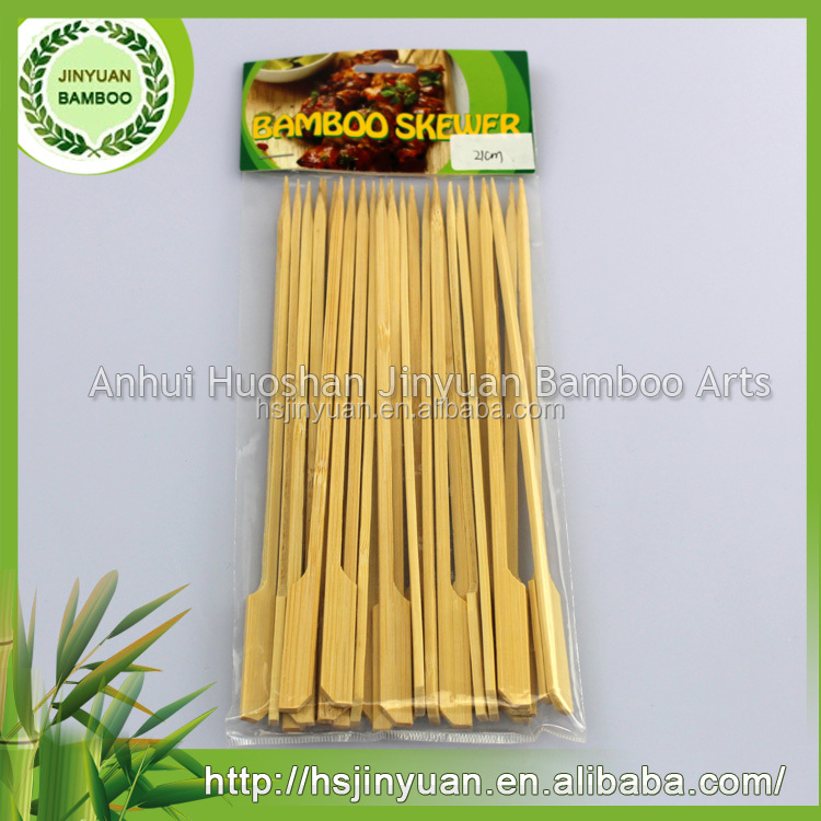 Chinese Style Food Bamboo Bbq Skewer Made In China
