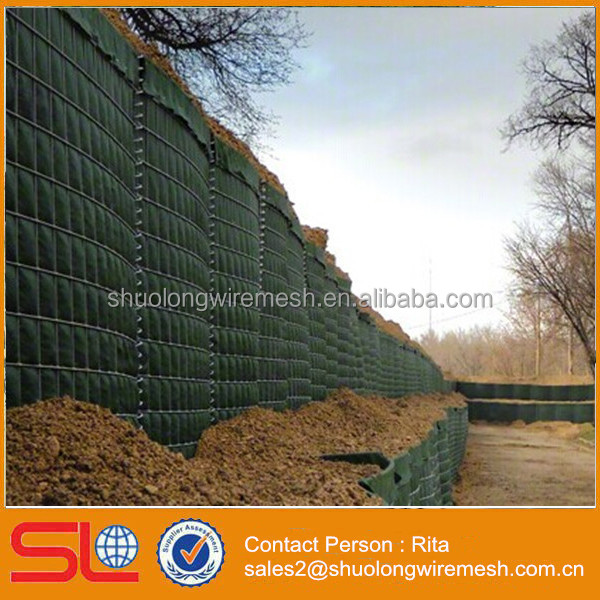 Flood Control Hesco Blast Wall Barrier Fence