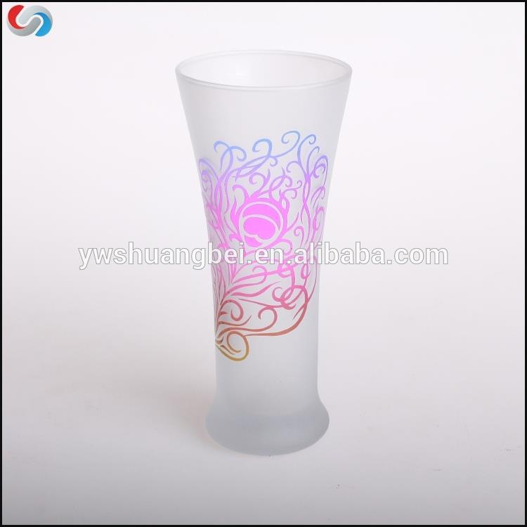 High Quality Frosted Drinking Glass Cup For Juice Coffee and Water