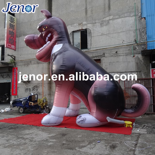 Giant Inflatable Dog with Logo for Outdoor Advertising