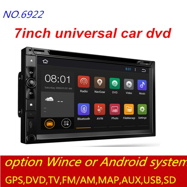 Shenzhen factory stable quality unlock car dvd with USB/FM/AM/DVD/WITHOUT DVD/BLUETOOTH/AUX/CANBUS