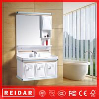 Good quality PVC soft closer waterproof bathroom sink cabinet