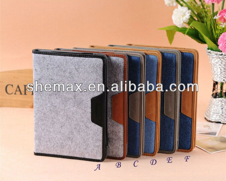 New arrival 9.7 inch ultra slim folio flip cover design for ipad air