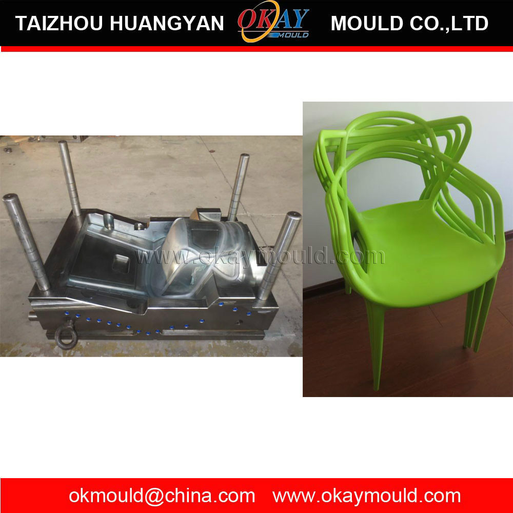 injection plastic mould for plastic chair,quality-guarantee chair plastic mold
