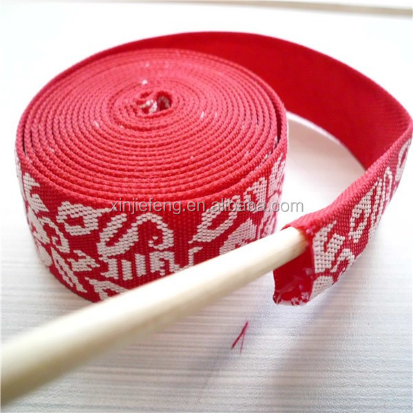 Printed Polyester tubular webbing for strap wholesale