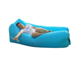 Nylon Sleeping Bed Bag Air Sofa Outdoor Inflatable Lounger
