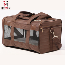 Airplane Dog Carrier Under Seat Fashion Pet Carry on Bag Small Puppy Carrier