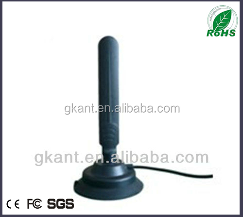 vhf 470~860MHz digital dvb-t antenna with booster vehicle dvb-t passive antenna for car