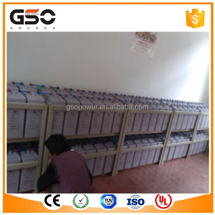 200Ah Gel Battery Used For UPS Power System