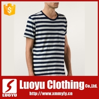 Online shopping China clothes new fashion men striped tshirt design