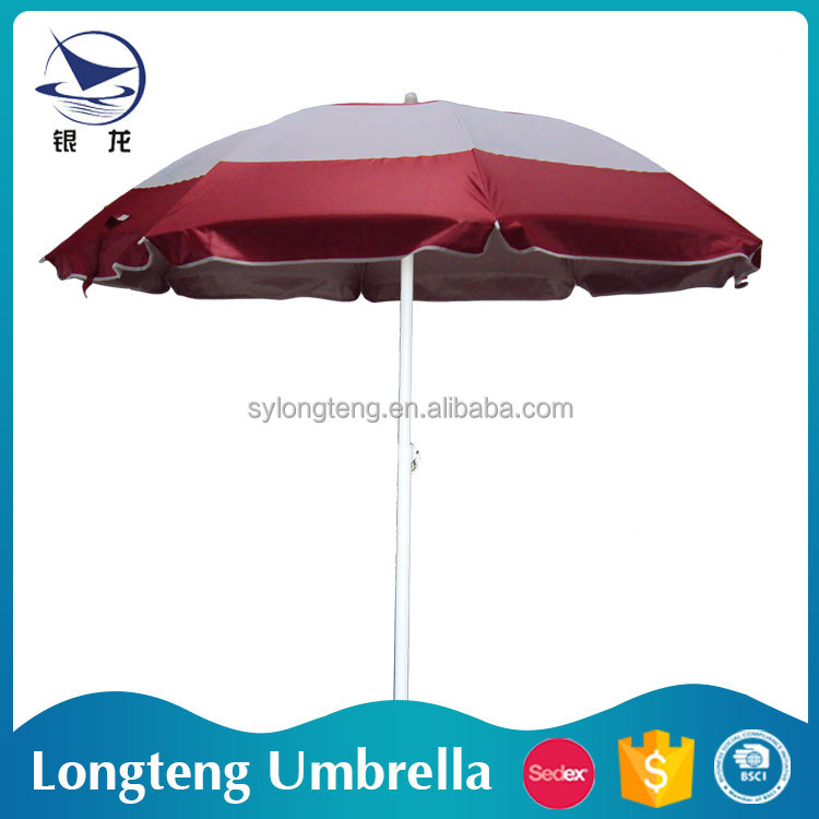 New Product Cheap price Sun umbrella Parasol harga payung pantai