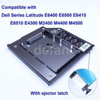 12.7mm SATA to SATA 2nd HD Hard Driver Caddy for Dell N7110 N5110 1640 1647 M14X