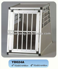 foldable aluminum transport dog cage
