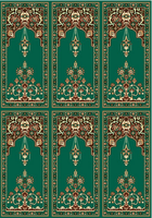 Hot Sell Oriental Design Non Slip Mosque Carpet