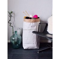 Paper gift kraft roll storage bags wholesale
