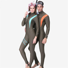Adult Watersports Triathlon Couple surfing snorkeling diving full body wetsuits