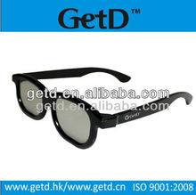 Plastic linear polarized glasses LP180G014 flicker free