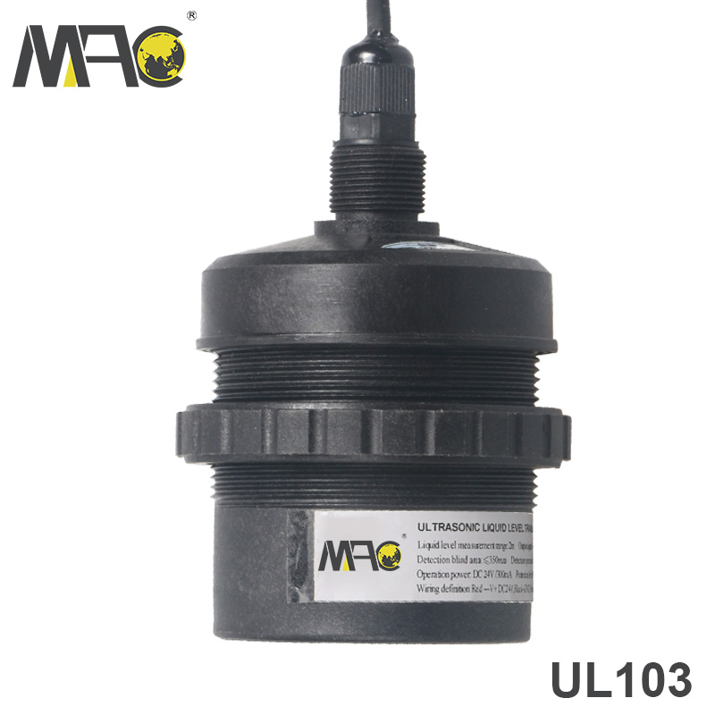 Mac transmitter hot sale oil water tank <strong>level</strong> measure ultrasonic type sensor